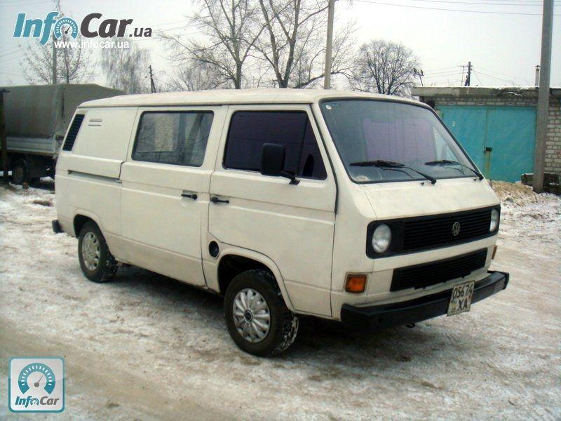 Купить автомобиль Volkswagen Transporter Т-2 1986 (бежевый) с ...
