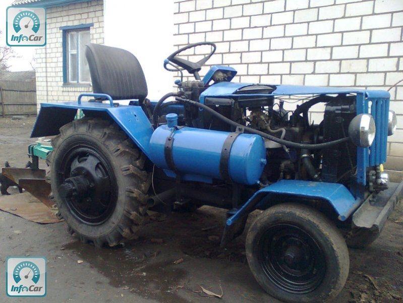 Газ 66 на самодельный трактор 186