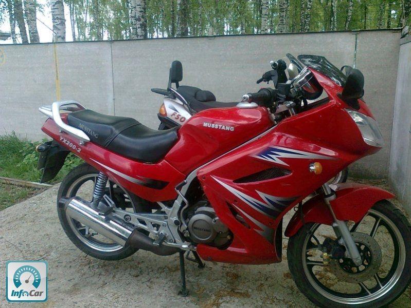 мотоцикл мустанг