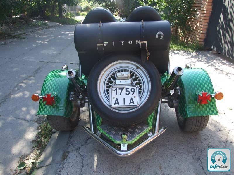 Фотография Мотоцикл Трайк Кастом - 4. Фото Мотоцикл Трайк Кастом - 4.