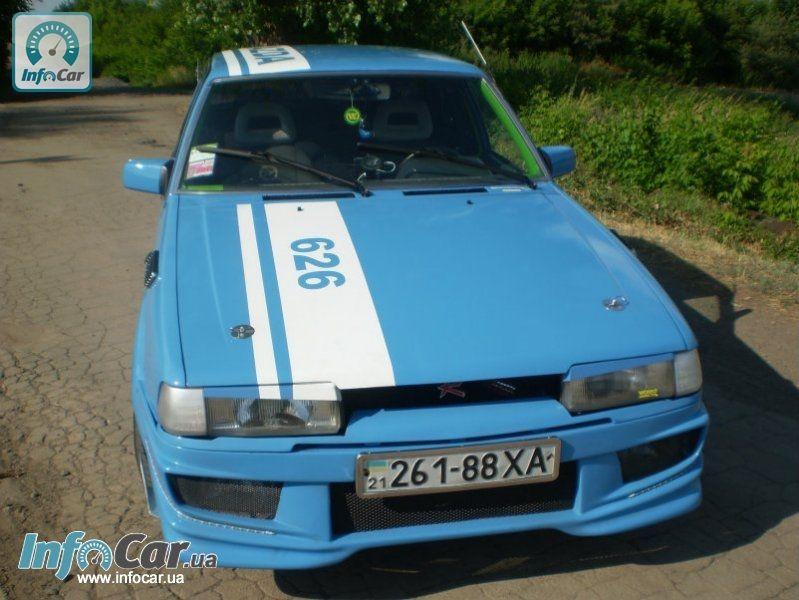 mazda 626 1987 тюнинг