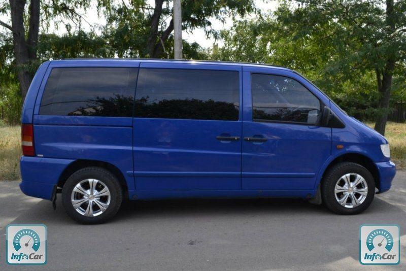 Mercedes vito 112 cdi 2000 №254769