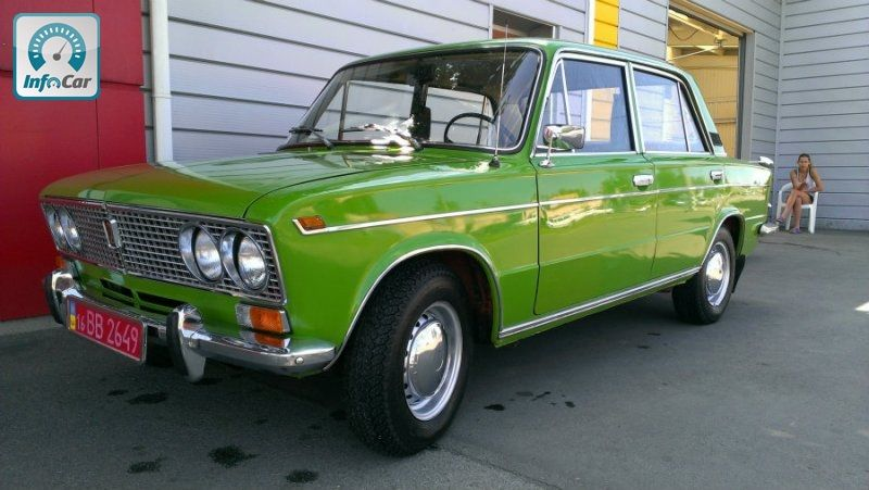Купить автомобиль ВАЗ 2103 100%Оригинал 1980 (зеленый) с ...  Ваз 2103 Оригинал