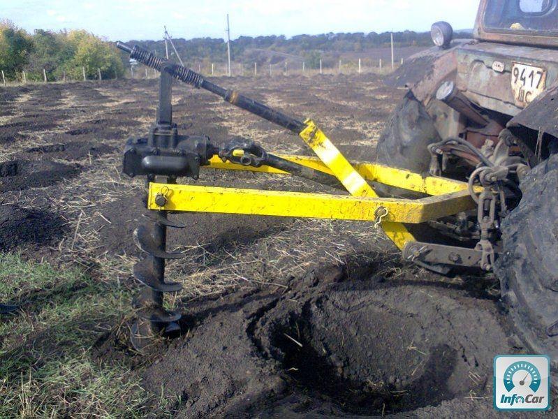 Буры своими руками на трактор