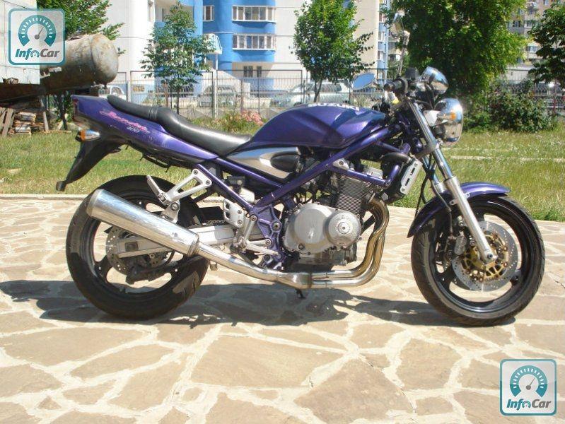 Suzuki bandit gsf 400 фото