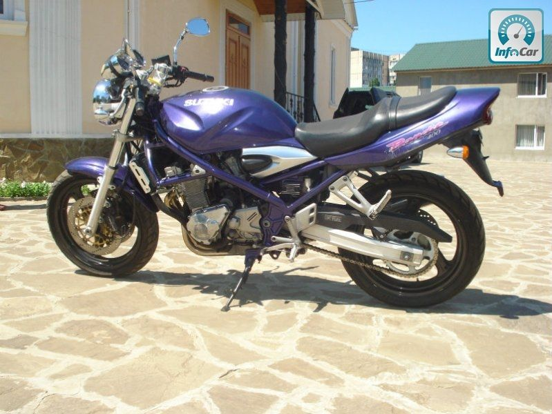 мотоцикл сузуки-бандит #7