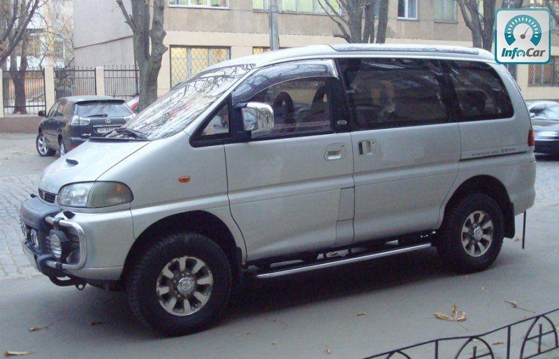 Купить автомобиль mitsubishi delica 2000 (серебряный) с пробегом ID410
