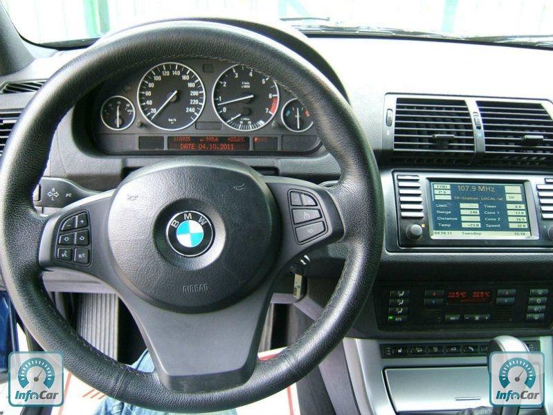 Купить автомобиль BMW X5 2006 (синий) с пробегом, продажа ...