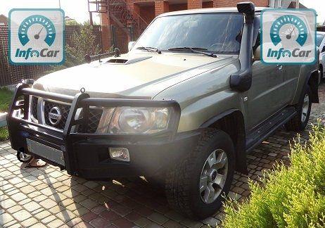Купить автомобиль nissan patrol y61 2006 (золотой) с пробегом