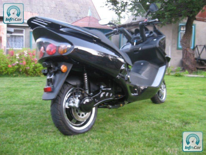 honda мотоцикл автомат