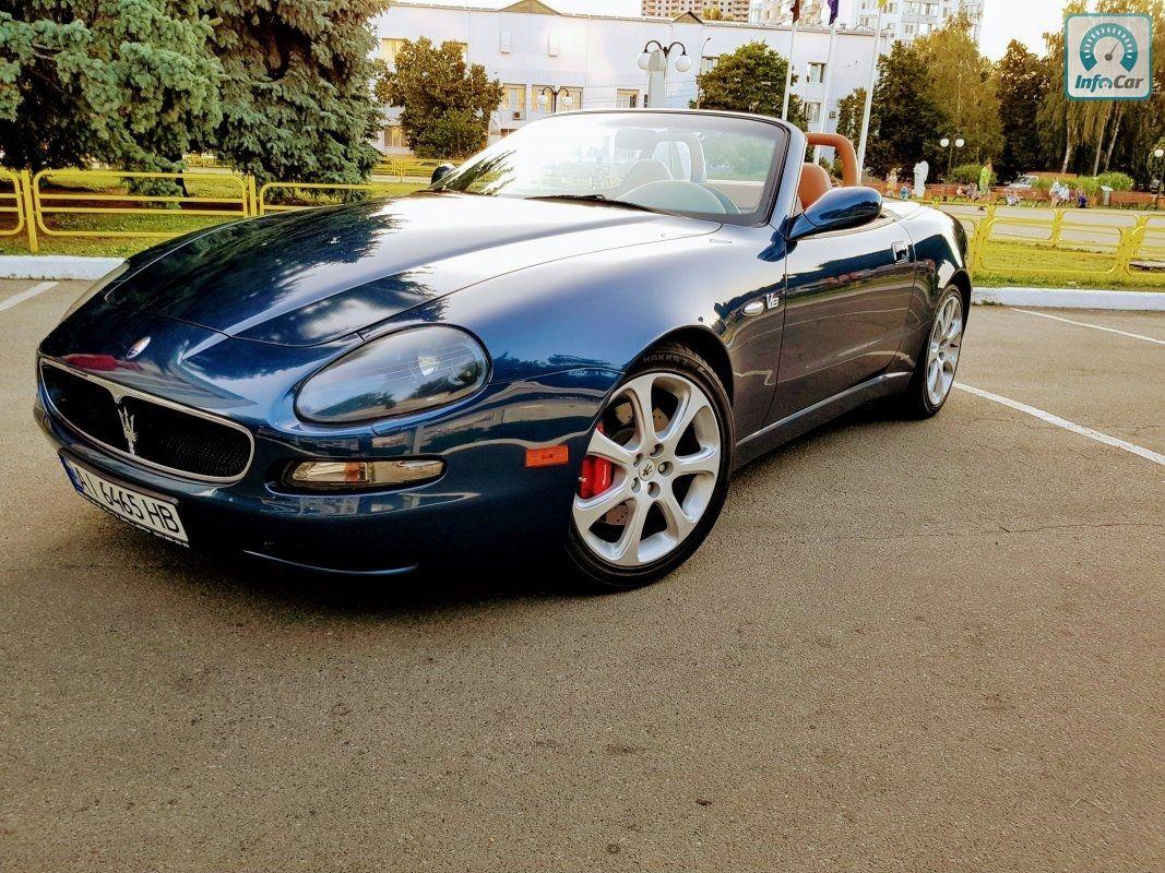 Купить автомобиль Maserati Spyder combi corsa 2007 (синий ...