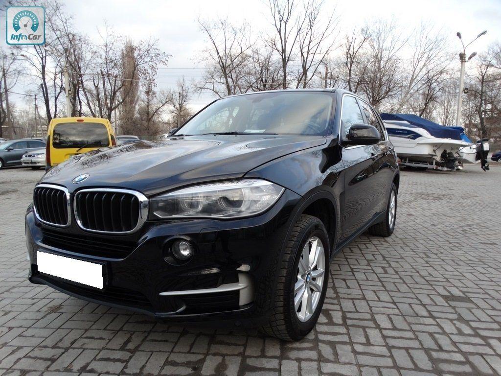Купить автомобиль BMW X5 2016 (черный) с пробегом, продажа ...