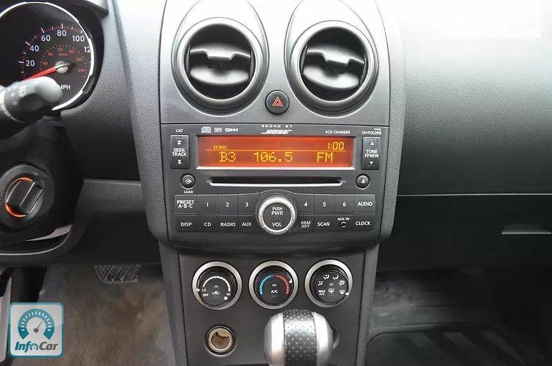 Купить автомобиль Nissan Rogue 2007 (черный) с пробегом, продажа