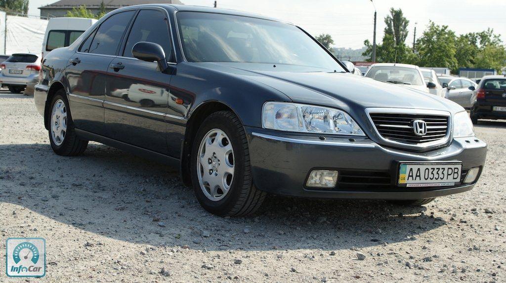Купить автомобиль Honda Legend 2003 (серый) с пробегом ...