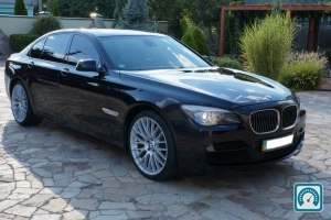 BMW 7 Series 740d XDrive 2011 №788347