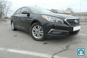Hyundai Sonata Blue efficie 2015 №793830