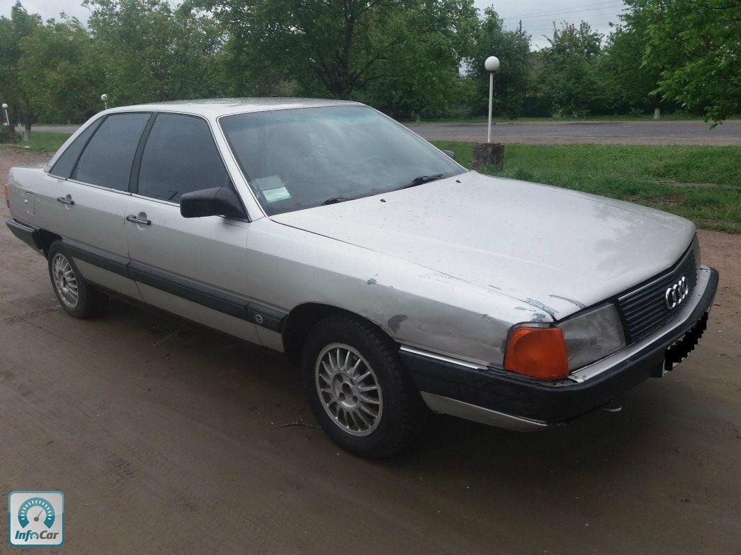 Купить автомобиль Audi 100 1986 (серый) с пробегом, продажа подержанного Audi 100 на автобазаре ...