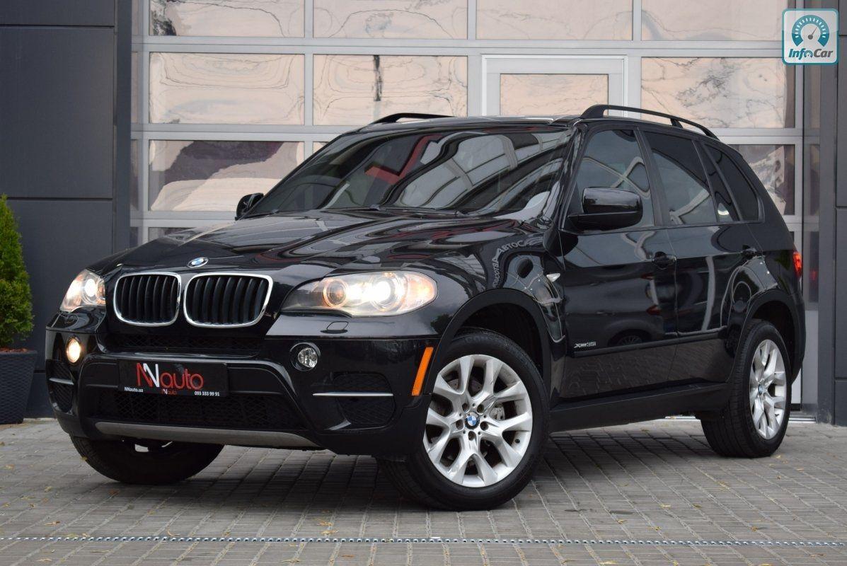 Купить автомобиль BMW X5 2012 (черный) с пробегом, продажа ...